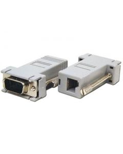 ORDERMAN ADAPTADOR DB9/RJ11(PC-ANTENA) (1u.)